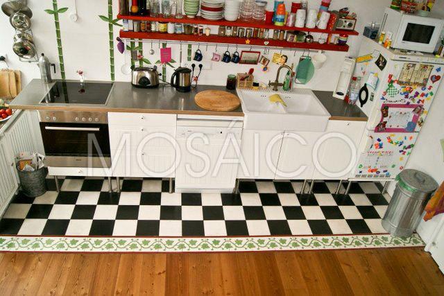galer a cocina mosaico. Black Bedroom Furniture Sets. Home Design Ideas